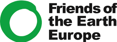 Friends of the Earth Europe logo client of Endeavour Consulting Geneva